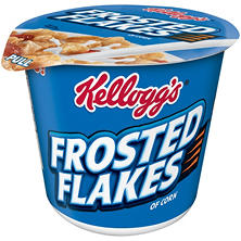 Kellogg's Frosted Flakes Cereal Cup (2.1 oz, 6 pk.)