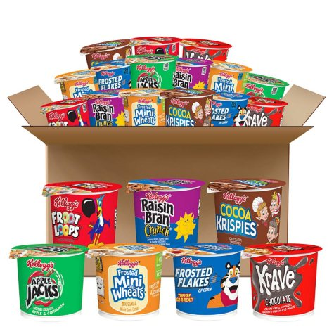 Kellogg's Favorite Cereal in a Cup Assortment Pack (60 ct.)