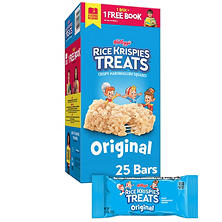 Kellogg's Rice Krispies Treats (1.3 oz. bar, 25 ct.)