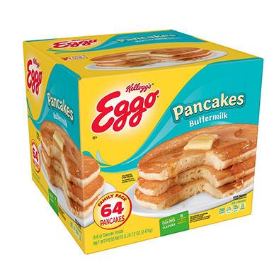 Eggo Buttermilk Pancakes (8 per pk., 8 pk.) - Sam\'s Club