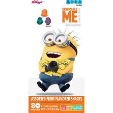 Kellogg's Minion Made Fruit Snacks (0.8 oz., 80 ct.)