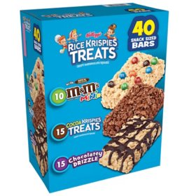 Kellogg's Rice Krispies Treats Variety Pack (40 ct.)