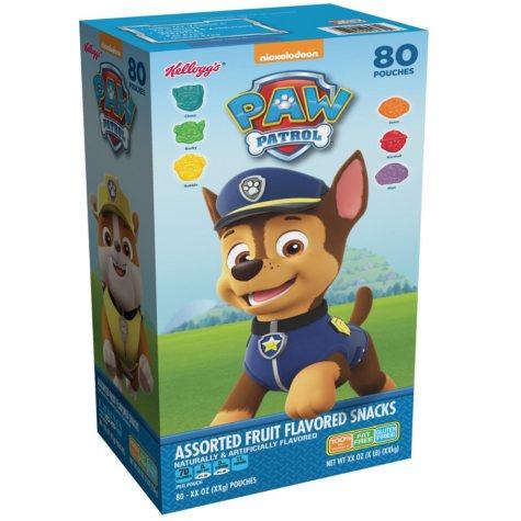 Paw Patrol Fruit Flavored Snacks (80 ct.)