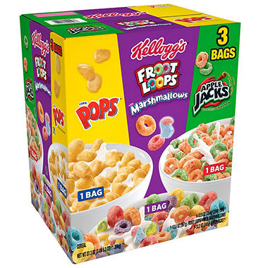 Kellogg's Kids Variety Pack (37.3 oz.)