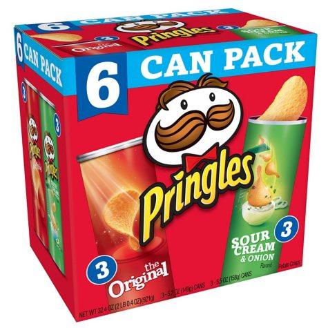 Pringles Variety Pack (32.4 oz., 6 pk.)