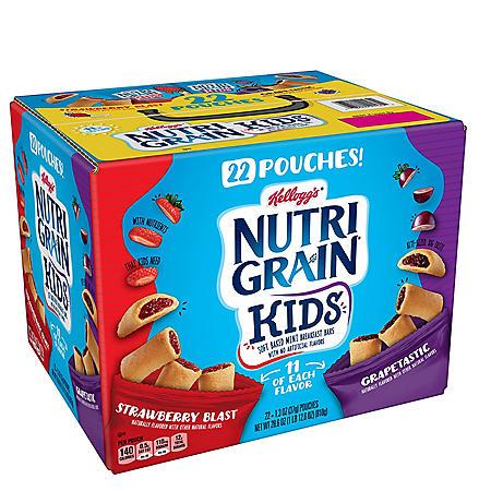 Kellogg's Nutri-Grain Kids, Variety Pack (22 pk.)