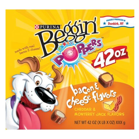 Beggin Party Poppers, Bacon & Cheese Flavors (42 oz.)