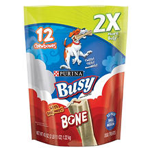Purina Busy Bone Dog Treat, Small to Medium Dogs (12 ct.)