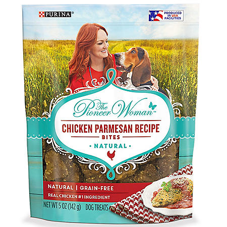 The Pioneer Woman Natural Dog Treats, Chicken Parmesan Recipe Bites (5 oz., 6 pk.)