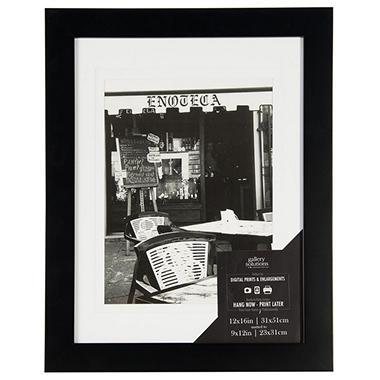 12 X 16 Wide Photo Frame Black Sams Club