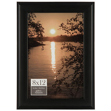 8 x 12 Phote Frame, Black