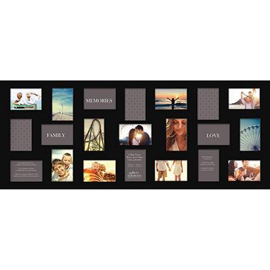 21 opening collage photo frame black sam s club