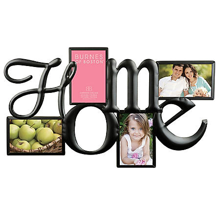 """Home"" Collage Photo Frame"