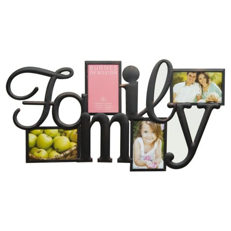 """Family"" Collage Photo Frame"