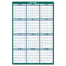 AT-A-GLANCE Vertical Erasable Wall Planner, 32 x 48, 2017