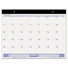 AT-A-GLANCE Desk Pad, 22 x 17, White, 2017