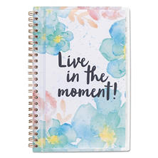 "AT-A-GLANCE B-Positive Desk Weekly/Monthly Planner, Live In The Moment, 5-3/8"" x 8-1/8"", 2017"