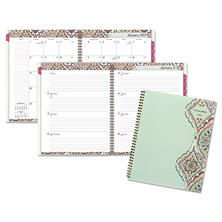"AT-A-GLANCE Marrakesh Professional Weekly/Monthly Planner, 9-1/4"" x 11-3/8"", 2017"
