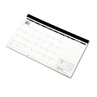 AT-A-GLANCE - Monthly Compact Full Year Desk Pad