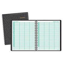 AT-A-GLANCE® Four-Person Group Daily Appointment Book, 8 x 10 7/8, White, 2018