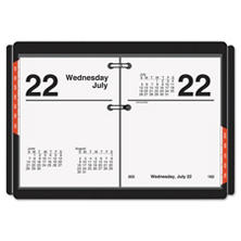 AT-A-GLANCE® Compact Desk Calendar Refill, 3 x 3 3/4, White, 2018