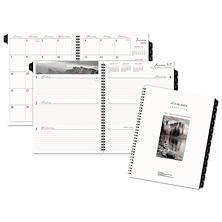 AT-A-GLANCE® Executive Fashion Weekly/Monthly Planner Refill, 8 1/4 x 10 7/8, 2018