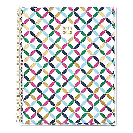 "Cambridge Blair Geo Academic Customizable Planner, 11"" x 8 1/2"", Blair Geo, 2019-2020"