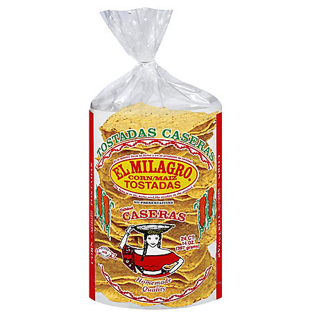 El Milagro Corn Tostada (14 oz., 24 ct.)