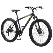 "Mongoose Roost Adult Men's Mountain Bike, 27.5"" Wheels"