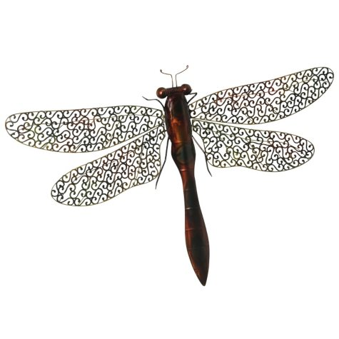 """""""Dragonfly"""" Metal Wall Décor"""