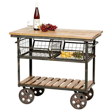 Rolling Kitchen Island rolling kitchen island - sam's club