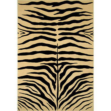 Newcastle Black Skins Rug - 5'3