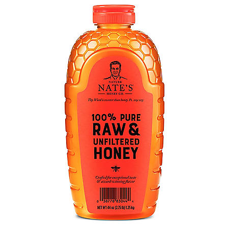 Nature Nate's 100% Pure Raw and Unfiltered Honey (44 oz.)