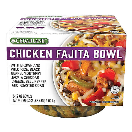 Cedarlane Chicken Fajita Bowl (12 oz., 3 pk.)