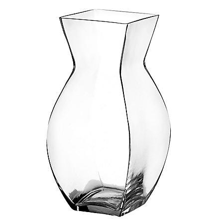 """9"""" Reception Vase -Crystal (6 ct.)"""