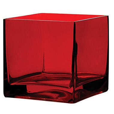 5 X 5 X 5 Square Vase 6 Ct Sams Club