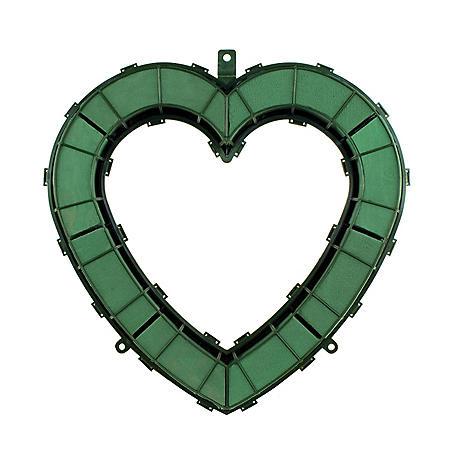 "Aquafoam Open Heart, Green (18"")"