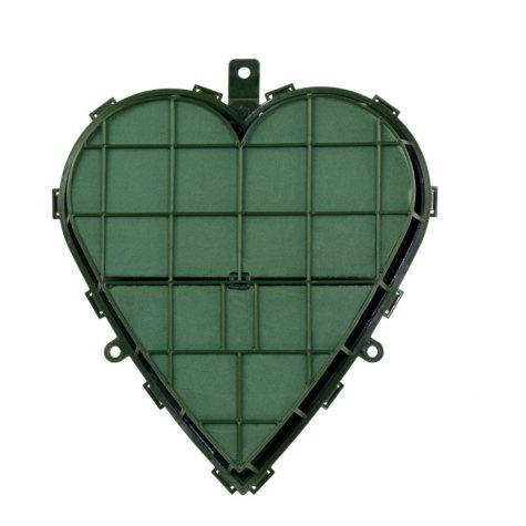 Aquafoam Solid Heart, Green ( Choose your size)