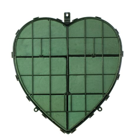 Aquafoam Solid Heart, Green ( Choose your size)