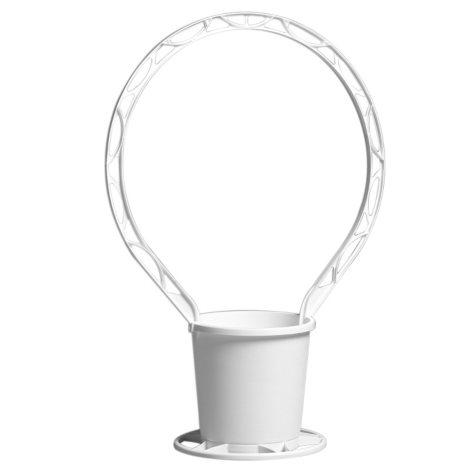 Round Sympathy Basket - White (24 ct.)