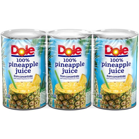 Dole Pineapple Juice (46 oz., 3 pk.)