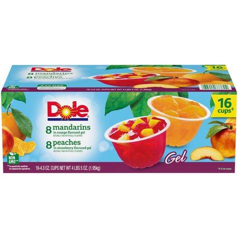 Dole Fruit in Gel Cups Variety Pack (4.3 oz., 16 pk.)