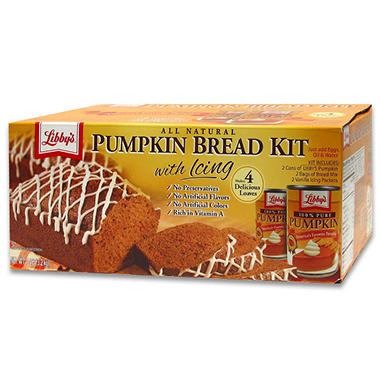 Libby's Pumpkin Bread Kit - 106 oz.