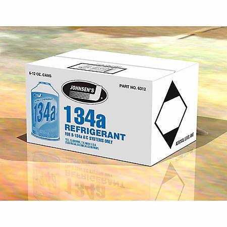 Johnsen's R-134a Refrigerant (6-count / 12-oz cans)