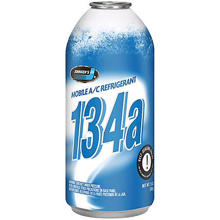 Johnsen's (R-134a) A/C Refrigerant (12-pack/12oz cans)