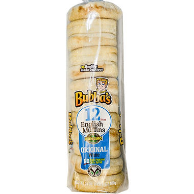 Bubba's Original English Muffins (24 ct.)