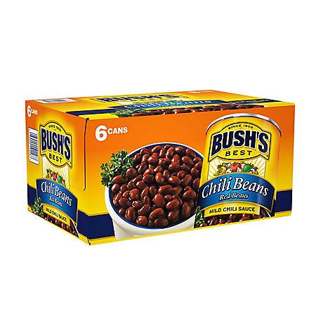 Bush's Mild Red Chili Beans (16 oz., 6 pk.)