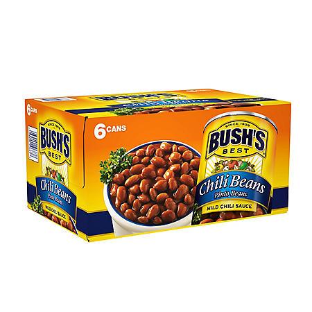 Bush's Mild Pinto Chili Beans (16 oz., 6 pk.)
