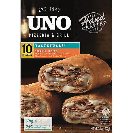 UNO Pizzeria and Grill Steak and Cheese Tastefulls (10 servings)
