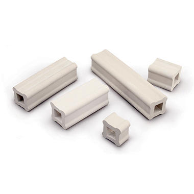AMACO Square Shelf Supports for Kiln, 1 x 1 x 4 Inches, Pack of 12